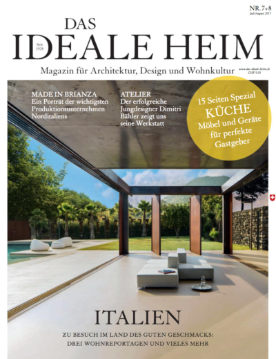 Cover DAS IDEALE HEIM Jul_Aug2017