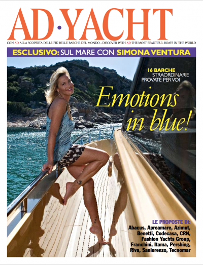 Cover AD Yacht Agosto 2009