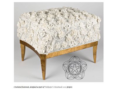 Footstool David Collins Studio Wallpaper